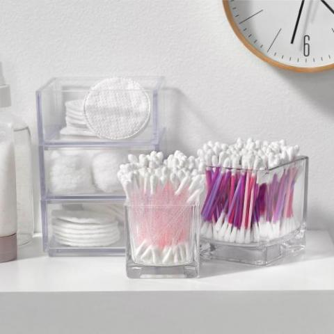 Plastic Stick Cotton Swabs